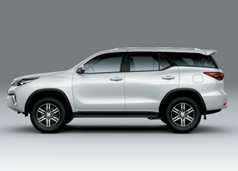 Fortuner 2.4AT 4x2 Hông xe